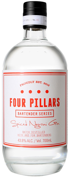 Four Pillars Spiced Negroni Gin - Aristo Spirits