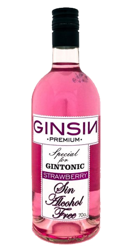 GinSin Strawberry Alcohol Free - Aristo Spirits