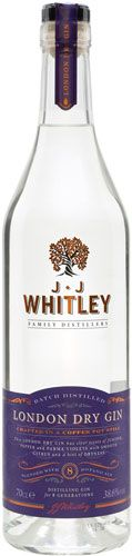 JJ Whitley London Dry Gin - Aristo Spirits