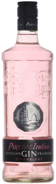 Puerto de Indias Sevillian Strawberry Gin - Aristo Spirits
