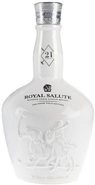 CHIVAS ROYAL SALUTE 21 YEARS THE SNOW POLO EDITION 70CL
