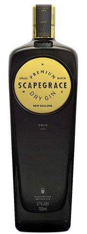 Scapegrace Gold Dry gin - Aristo Spirits