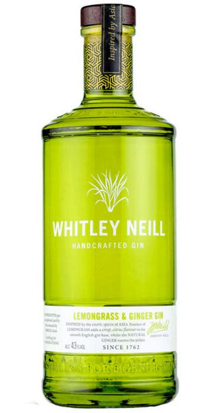 Whitley Neill Lemongrass & Ginger Gin - Aristo Spirits