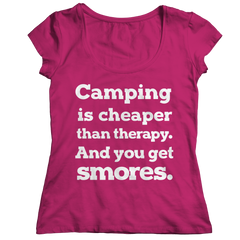 Limited Edition - Camping Is Cheaper Than Therapy