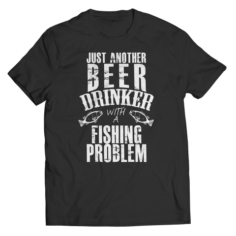 Beer Drinker With A Fishing Problem