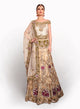 sonascouture - Contemporary Gold/Olive And Pink Lengha BW030