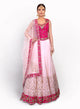 sonascouture - Elegant Lengha Created In Raw Silk BW078