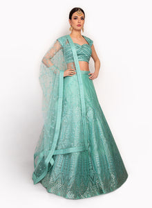 sonascouture - Striking Modern Lengha BW084