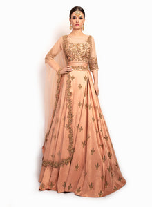 sonascouture - Gorgeous Lengha With Modern Style Top BW101