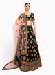 sonascouture - Bottle Green Lengha BW136