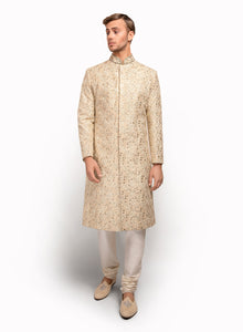 sonascouture - Sherwani Fully Detailed With Thread MM012
