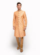 sonascouture - Peach Raw Silk Sherwani MM013