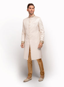 sonascouture - Italian Fabric Detailed Sherwani MM023