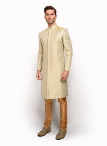 sonascouture - Silk Brocade Sherwani MM025