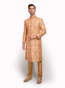 sonascouture - Raw Silk Sherwani MM037