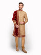 sonascouture - Brocade And Velvet Sherwani MM039