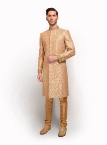 sonascouture - Antique Embroidered Sherwani MM041