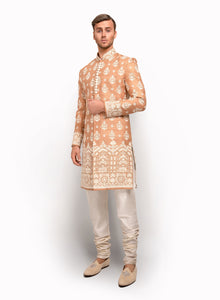 sonascouture - Sherwani Fully Detailed With Ivory Thread MM042