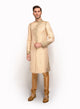 sonascouture - Gold Angrakha Sherwani MM050