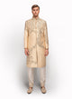 sonascouture - Sherwani Detailed With Unusual Placement Of Embroidery MM059