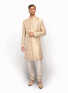 sonascouture - Silk Brocade Indo Western MM061
