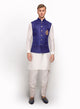sonascouture - Matka Silk Waistcoat With Antique Motif MM090
