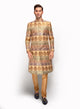 sonascouture - Brocade Sherwani In Multi Tones MM104
