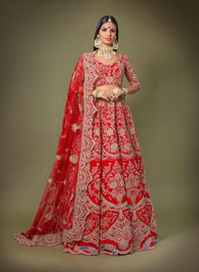 Red Peacock Bridal W405