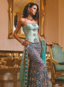 sonascouture - Aqua Green Bridal W096