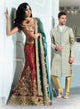 sonascouture - Red Regal Brocade Bridal W201