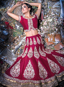 sonascouture - Cherry Red Bridal W235