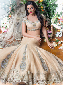sonascouture - Gold Lace Bridal W246