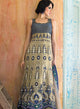 sonascouture - Blue And Grey Lengha Anarkali W265