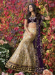 sonascouture - Elegant Aubergine And Gold Bridal W273
