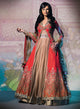 sonascouture - Heavy Coral Anarkali Gown W287