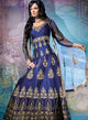 sonascouture - Navy Blue Anarkali Gown W291