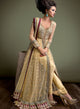 sonascouture - Gold Maroon And Bottle Green Anarkali W304