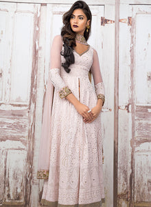 sonascouture - Baby Pink Lucknowi Palazzo Suit W307A