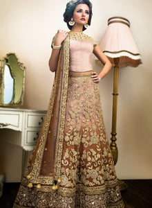 sonascouture - Caramel/Brown Bridal W308A