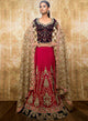 Navy Cherry Red Bridal W312