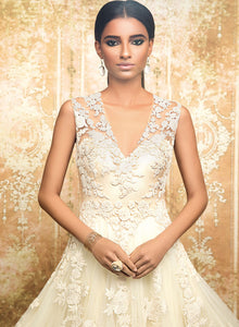 sonascouture - Beautiful Ivory Gown W320