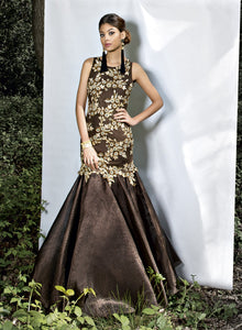 sonascouture - Brown Gown W337