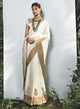 sonascouture - Ivory Silk Saree W340
