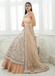 sonascouture - Nude Peach And Ivory Lengha W371