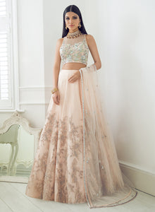 sonascouture - Peach Pink Bridal W372