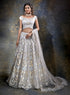 Exquisite Grey Bridal W382