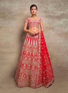 sonascouture - Red Gota Bridal W388