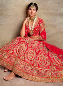 sonascouture - Classic Red Bridal W389