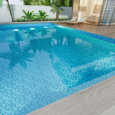 high-quality ceramic pool tiles