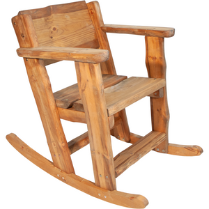 Rustica Rocking Chair Gungstol, Furu, Brun